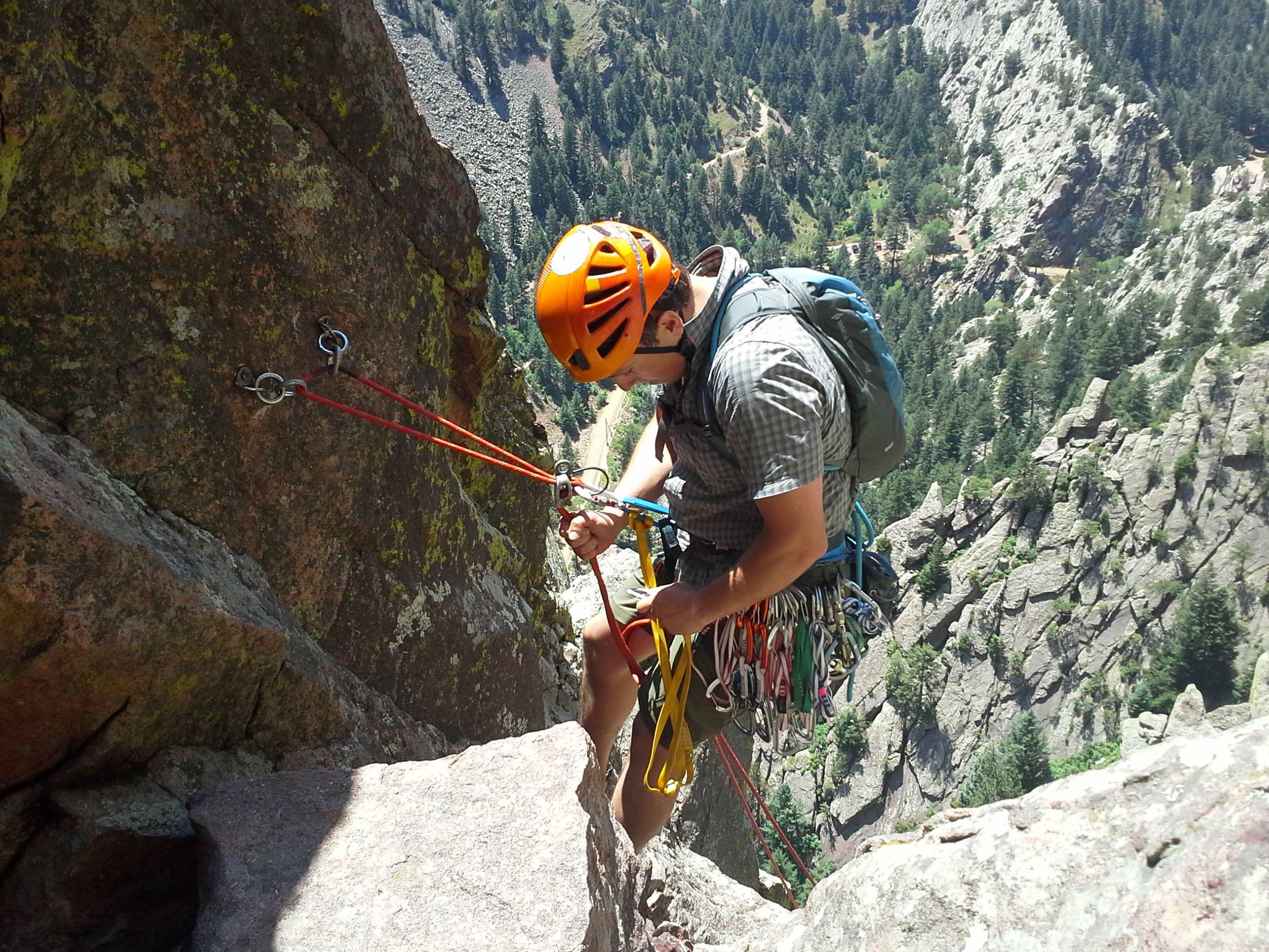 Trip Report: Swanon's Arete Eldorado Canyon // lynnepetre.com