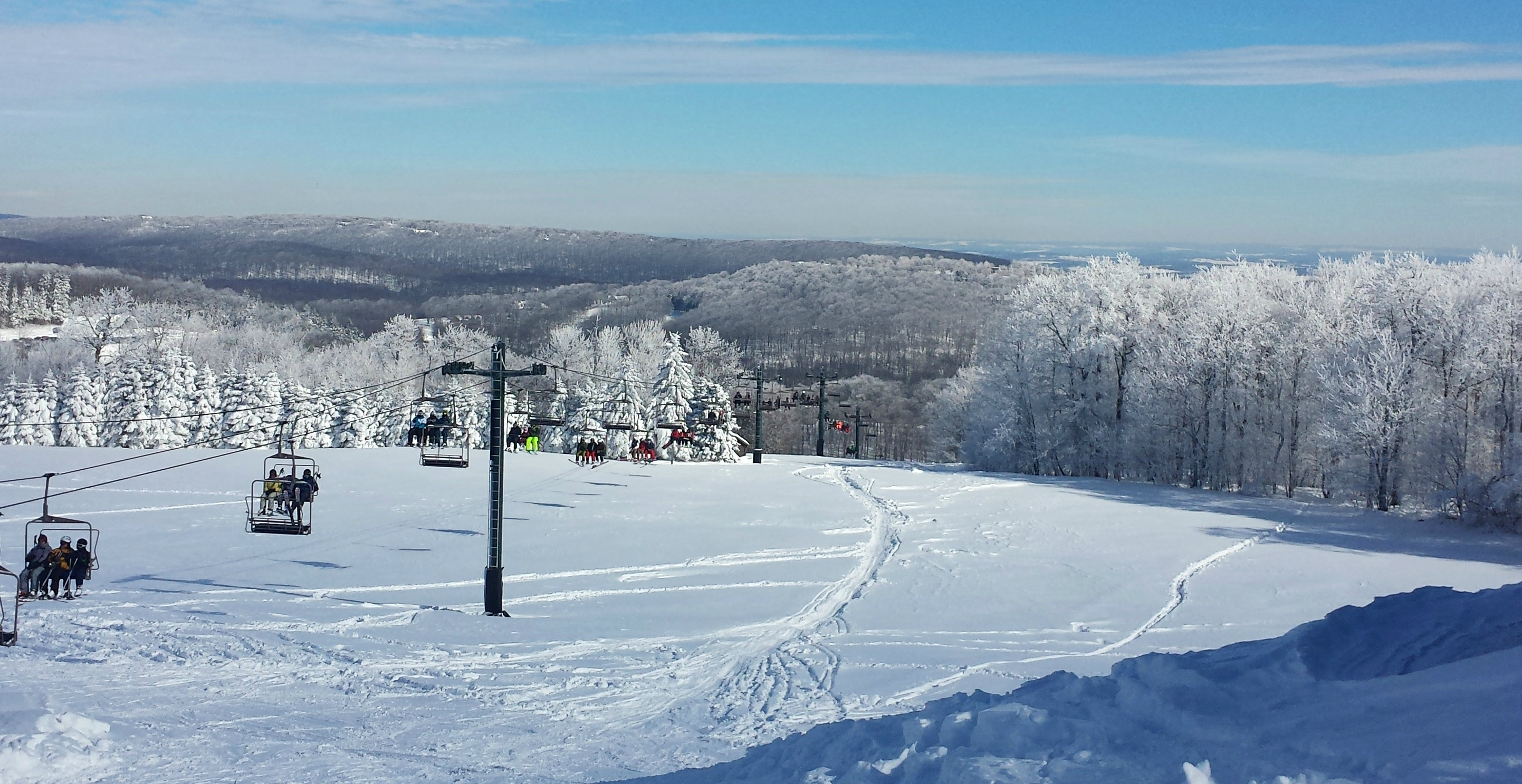 pennsylvania skiing: seven springs mountain resort - lynne petre