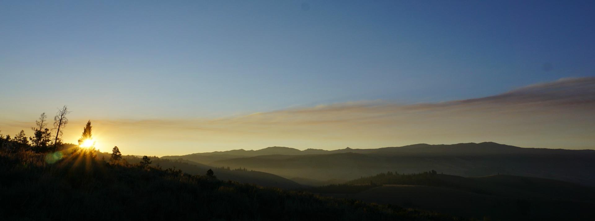 Stanley Idaho Sunrise // lynnepetre.com